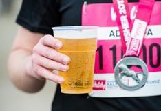 Descubre si es buena idea tomar una cerveza después de correr
