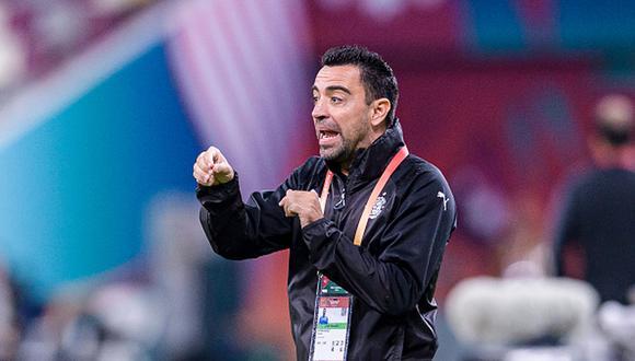 Xavi Hernández fue tentado por otros clubes antes de renovar con el Al Sadd. (Foto: Getty Images)