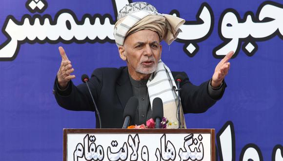 Ashraf Ghani, presidente de Afganistán. EFE