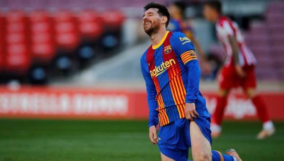 La cantidad de dinero que ha perdida Lionel Messi desde que no tiene contrato con Barcelona. (Foto: EFE)
