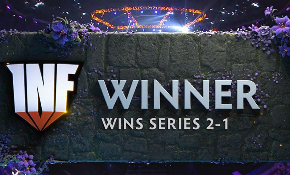 Infamous venció por 2 a 1 a Newbee y accedió a la tercera ronda del Mundial de Dota 2. (Captura de pantalla)
