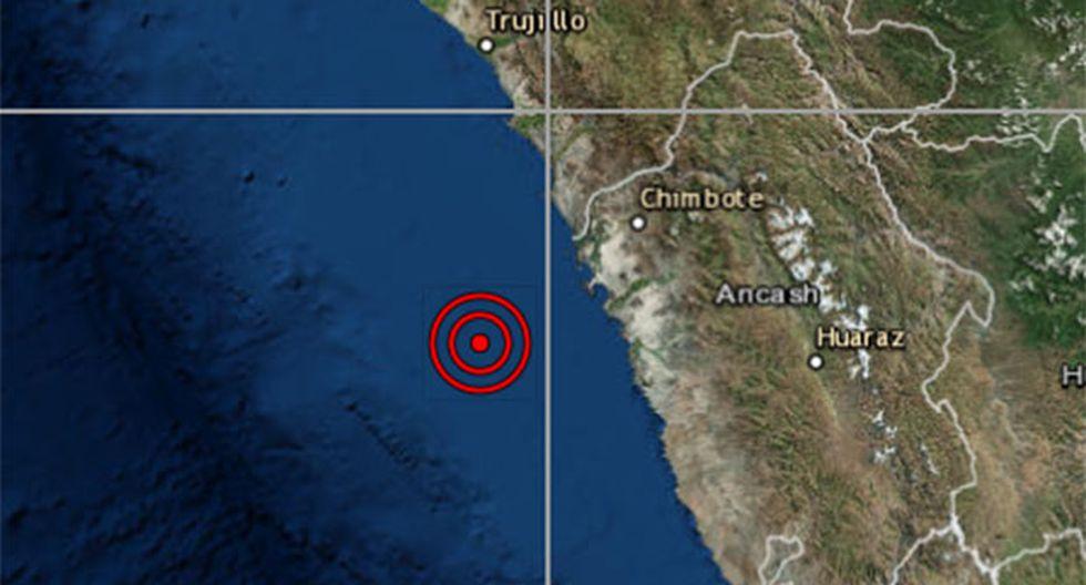 Nuevo sismo se registró en el país, esta vez en la región Áncash, aunque sin causar víctimas. (Foto: IGP)
