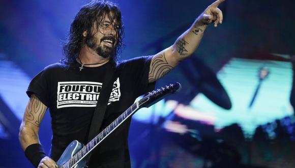 Dave Grohl, el líder de la banda Foo Fighters, realizó este 20 de junio un concierto en el Madison Square Garden, el primer espectáculo musical en vivo en Nueva York desde marzo de 2020. (Foto: AP/Leo Correa)