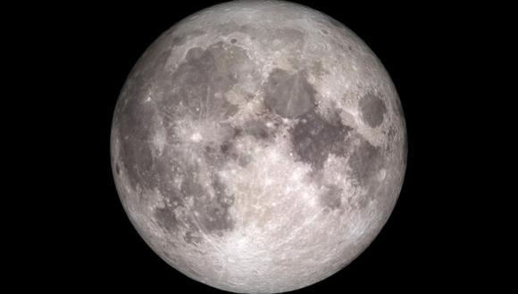 Luna llena. (Foto: NASA)