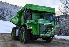 e-Dumper: el vehículo eléctrico más grande del mundo que no necesita recargarse   FOTOS