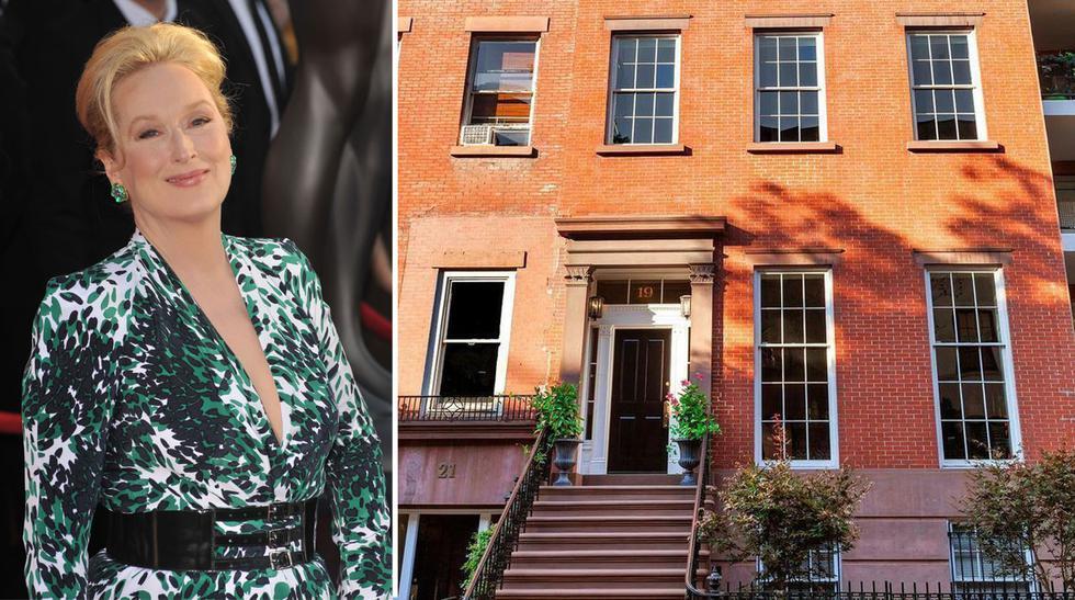 Hacemos un repaso por las casas más elegantes de las actrices nominadas al Oscar 2017. En la imagen, se aprecia la propiedad de Meryl Streep en Nueva York. (Foto: Featureflash Photo Agency / Shutterstock / The Corcoran Group)