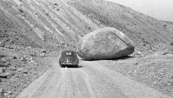 Foto publicada en El Comercio el 9 de junio de 1970. Fue parte de la cobertura que el querido Javier Ascue y José Michilot lideraron, camino a Yungay, cuando fueron testigos del desastre provocado por el terremoto.