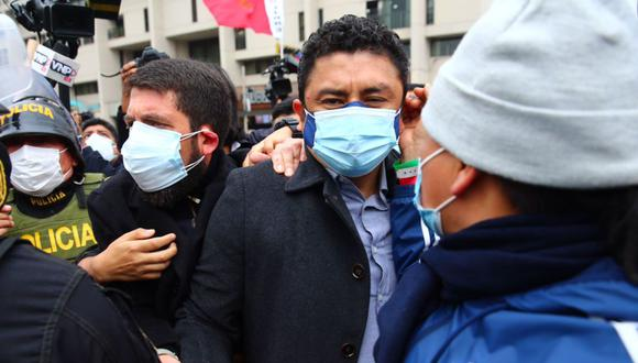 La fiscalía pidió 20 años de prisión contra Guillermo Bermejo, acusado por pertenencia y afiliación terrorista a los remanentes de Sendero Luminoso del Vraem, entre el 2008 y marzo del 2009 | Foto: Hugo Curotto / @photo.gec