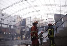 Barranco: los daños que sufrió el coliseo del colegio Santa Rosa tras incendio de proporciones | FOTOS