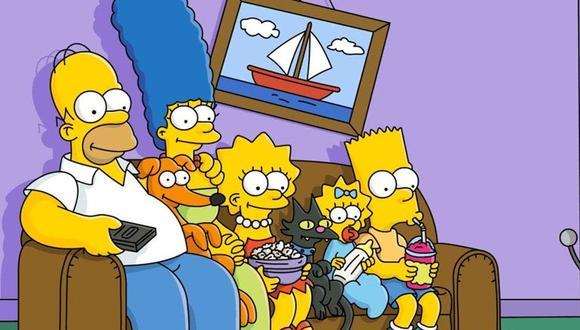 La familia amarilla tiene una historia detrás del cuadro de barco que tienen en su sala de estar (Foto: Disney Plus)