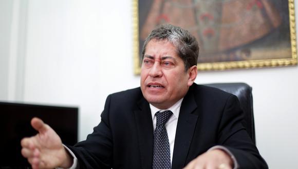 El magistrado del TC Eloy Espinoza-Saldaña dijo que decidieron no hacer una consulta a la Comisión de Venecia antes que lo hiciera Pedro Olaechea. (Foto: El Comercio)