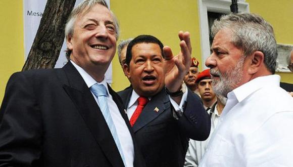 "Lula: ""Chávez, Kirchner y yo éramos Messi, Pelé y Maradona"""