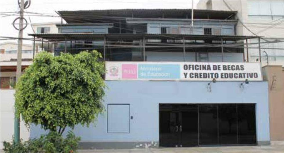 También se subastará el edificio de la antigua Oficina de Becas y Crédito Educativo. (Foto: Pronabi)