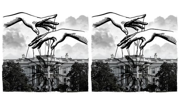 """""""Una fuerte democracia estadounidense no solo beneficia a ese país sino también al resto del mundo"""". (Ilustración: Rolando Pinillos)"""