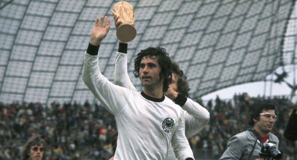 Gerd Müller marcó el gol del triunfo para la República Federal de Alemania en la Copa del Mundo del 74. (Foto: FIFA)