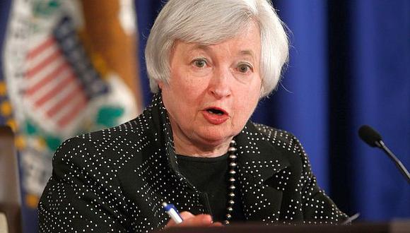 Janet Yellen, presidenta de la Reserva Federal de Estados Unidos. (Foto: Reuters)
