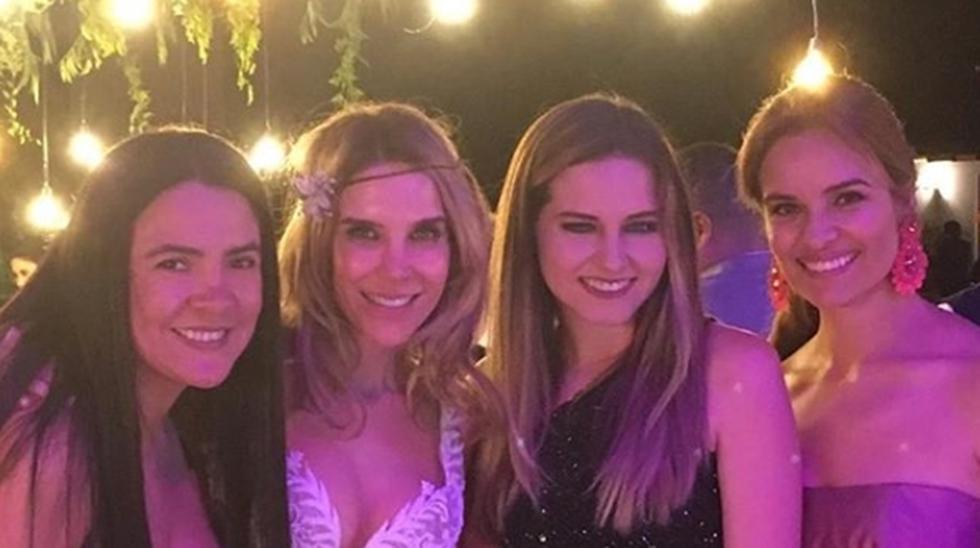 Así fue el matrimonio de Juliana Oxenford desarrollado el último sábado en Pachacámac. Foto: Instagram.