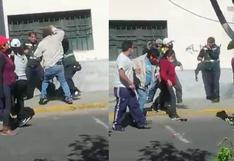Arequipa: transportistas informales agreden a 7 inspectores municipales en operativo | VIDEO