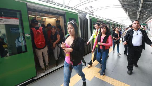 Los pasajeros deben tomar su previsiones para no verse afectados. (El Comercio)