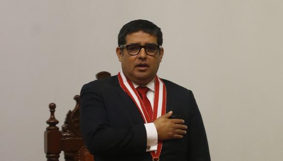 El fiscal supremo Víctor Rodríguez Monteza ha sido sindicado como parte de la organización criminal Los Cuellos Blancos del Puerto. (Foto: Mario Zapata)