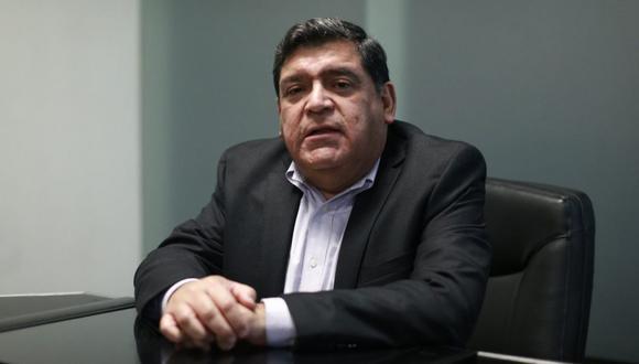 Juan José Marthans destaca que el paquete fiscal y monetario del Perú es uno de los más agresivos del mundo. (Foto: Renzo Salazar / Archivo El Comercio)