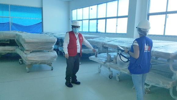 Ucayali: 167 camas clínicas están sin uso y podrían servir para los pacientes diagnosticados con COVID-19. (Foto: Defensoría del Pueblo)