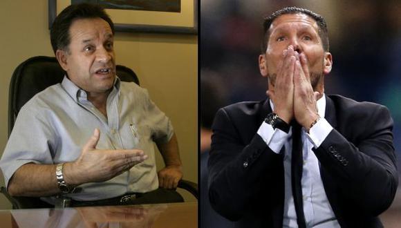 """Freddy Ames dice que Diego Simeone sería """"gran carta"""" para Perú"""