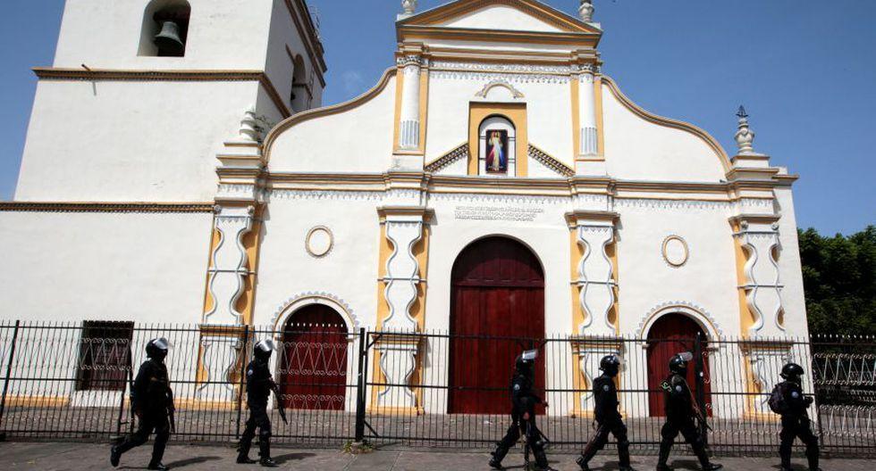 Nicaragua: Iglesia católica envía misión a parroquia de estudiantes atrincherados. (Foto: Reuters)