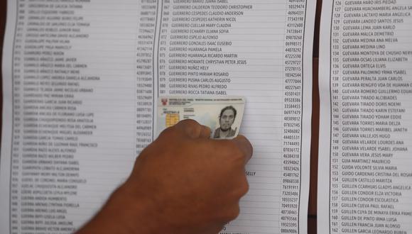 De no acudir a ejercer tu voto, recibirás una multa electoral cuyo monto varía según tu clasificación. (Foto: GEC)