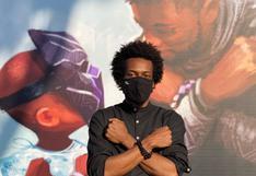 Disney presenta el emotivo mural que creó en honor a la memoria de Chadwick Boseman