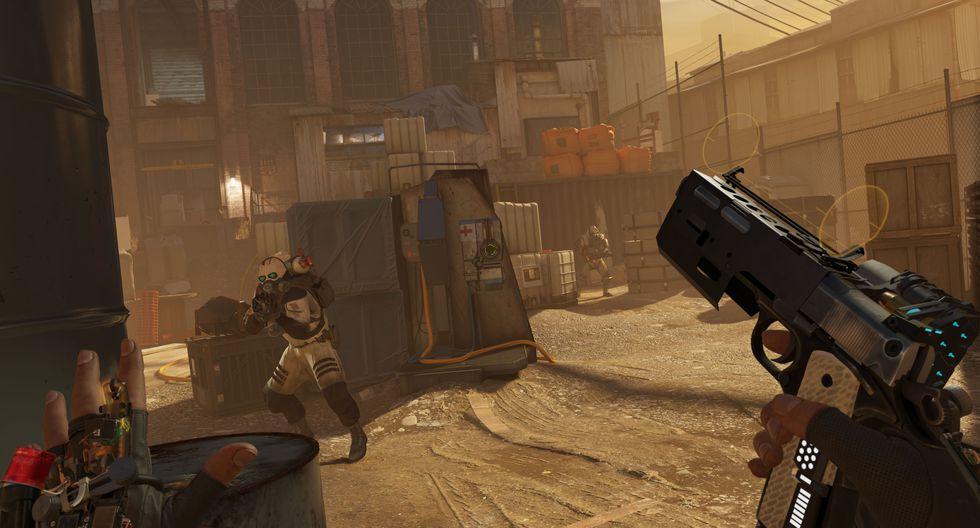 Half-Life: Alyx estrena en PC en exclusiva de la realidad virtual el 23 de marzo próximo. (Imagen: Valve)