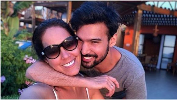 """Karen Schwarz aclara que ella no se """"daría un tiempo"""" con Ezio Oliva. (Foto: Instagram)."""