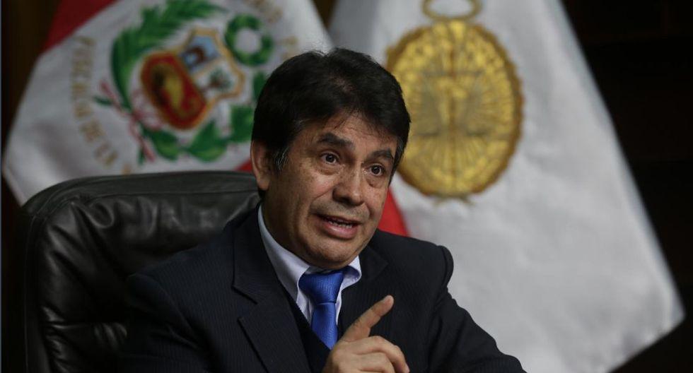 Tomás Gálvez aseguró que es inocente y que los testimonios que lo vinculan a 'Los cuellos blancos del Puerto' son manipulados. (Foto: Renzo Salazar / GEC)