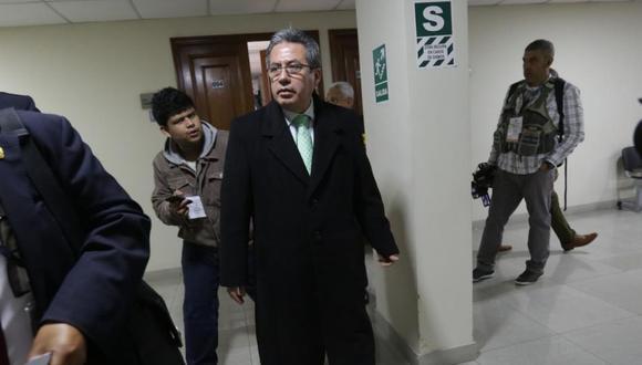 El juez supremo Aldo Martín Figueroa Navarro es cuestionado por sus presuntos vínculos con la organización criminal Los Cuellos Blancos del Puerto. (Foto: Archivo El Comercio)