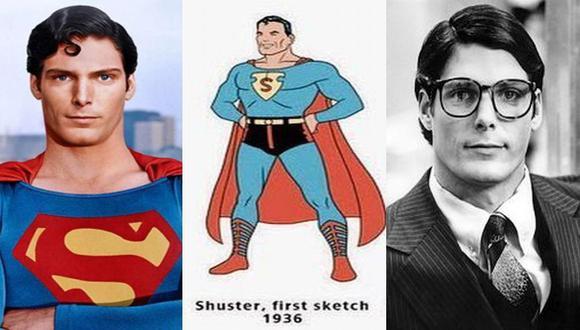 Superman, tanto tiempo después. A la izquierda el querido Christopher Reeve, que hoy cumpliría 69 años. A la derecha, Kent. El noble Clark Kent.