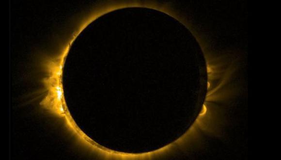 Satélite europeo captó el eclipse solar desde el espacio