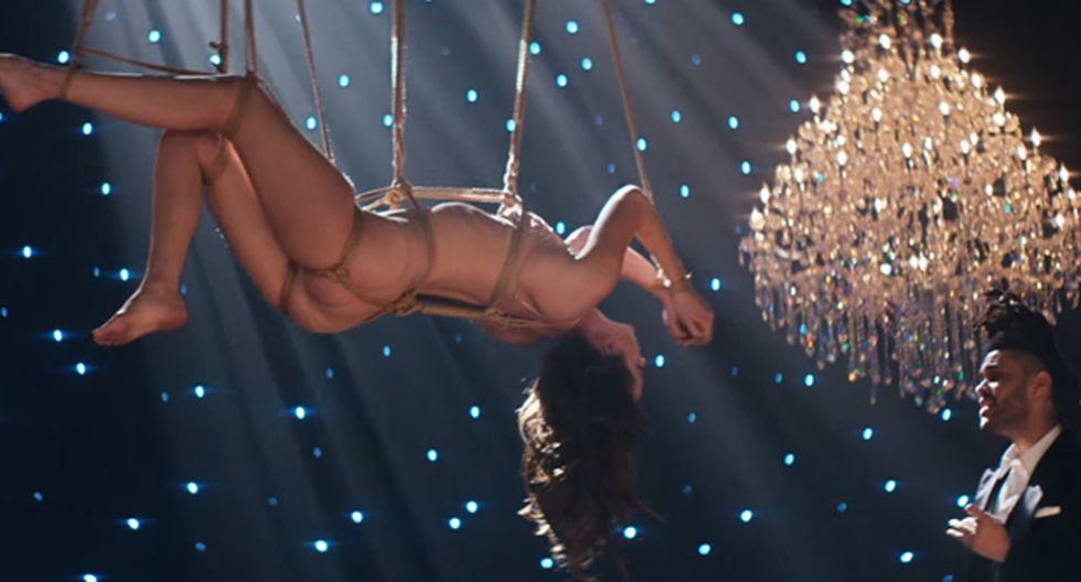 """""""50 sombras de Grey"""": Dakota Johnson semidesnuda en nuevo video"""