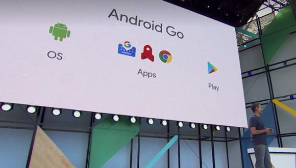 Este sistema operativo de Google funciona con apps ligeras.  (Foto: YouTube)