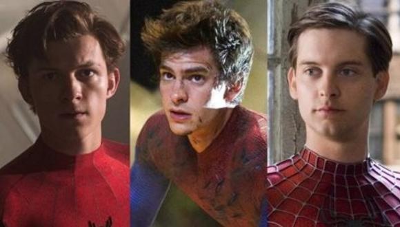 Tom Holland, Tobey Maguire y Andrew Garfield estarían en una sola película. (Foto: Sony Pictures)