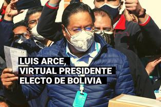 Bolivia: Luis Arce tomará las riendas de un país polarizado y en crisis económica