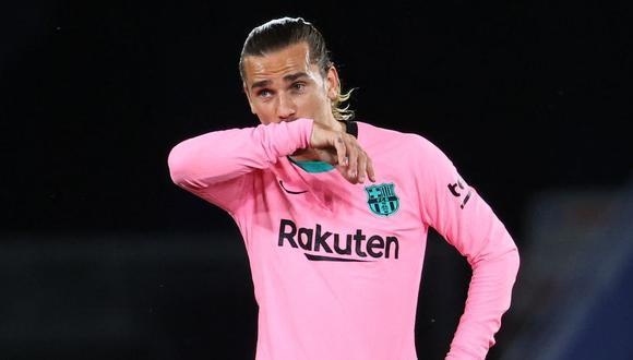 Antoine Griezmann es jugador del FC Barceloan desde la temporada 2019. (Foto: AFP)
