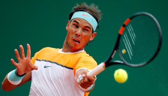 Rafael Nadal arrasó en su debut en el Masters de Montecarlo