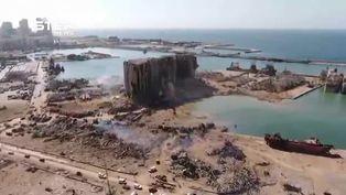 Detienen a 16 funcionarios del puerto de Beirut por explosión