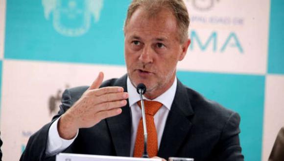 El alcalde de Lima, Jorge Muñoz, participó en la audencia del proceso de arbitraje contra Lamsac. (Foto: Andina)