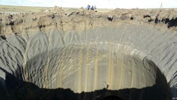 Aumentan a 7 los cráteres misteriosos descubiertos en Siberia