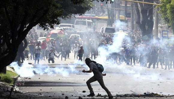 Las protestas en Colombia, que comenzaron el pasado 28 de abril contra la ya extinta iniciativa de reforma fiscal, se han cobrado al menos 43 vidas. (Foto: John Vizcano / Reuters)