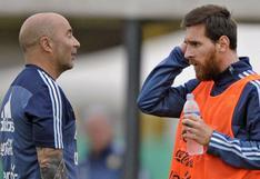 ¿Cómo fue el reencuentro entre Lionel Messi y Jorge Sampaoli en el clásico francés?