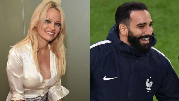 Pamela Anderson terminó su relación con Adil Rami y lo acusó de torturarla emocional y físicamente. (Foto: AFP/Instagram)