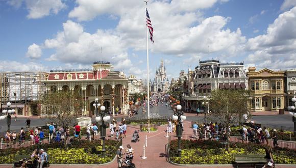 Habitantes de Florida se refugian en Disney para olvidar a Irma. (Foto: AFP)