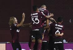 Lanús goleó 3-0 a Vélez Sarsfield y está en la final de la Copa Sudamericana